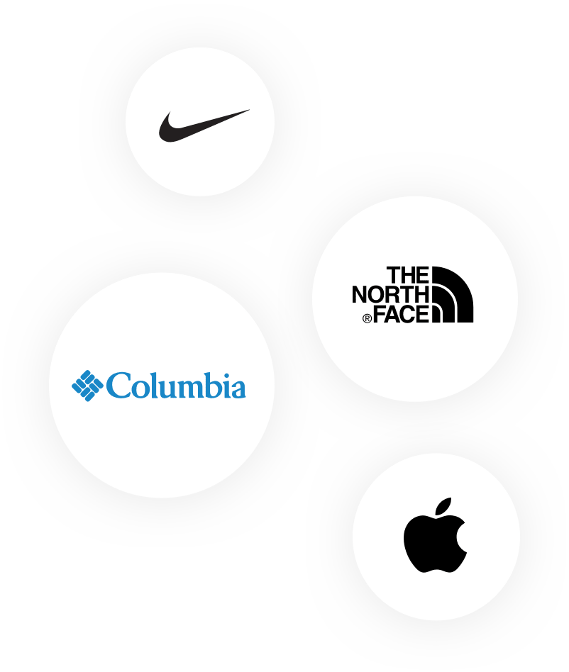 second group of logos for brands that Brad's Deals works with