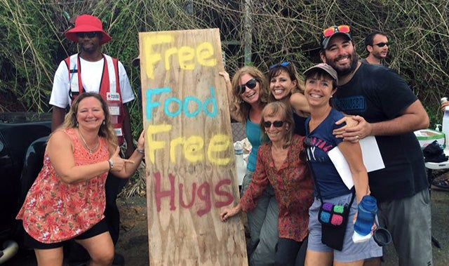 US Virgin Islands Free Food Free Hugs